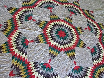 How to make a War Bonnet Quilt - YouTube |Indian Star Quilts